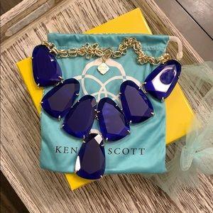 Kendra Scott Harlow necklace Cobalt